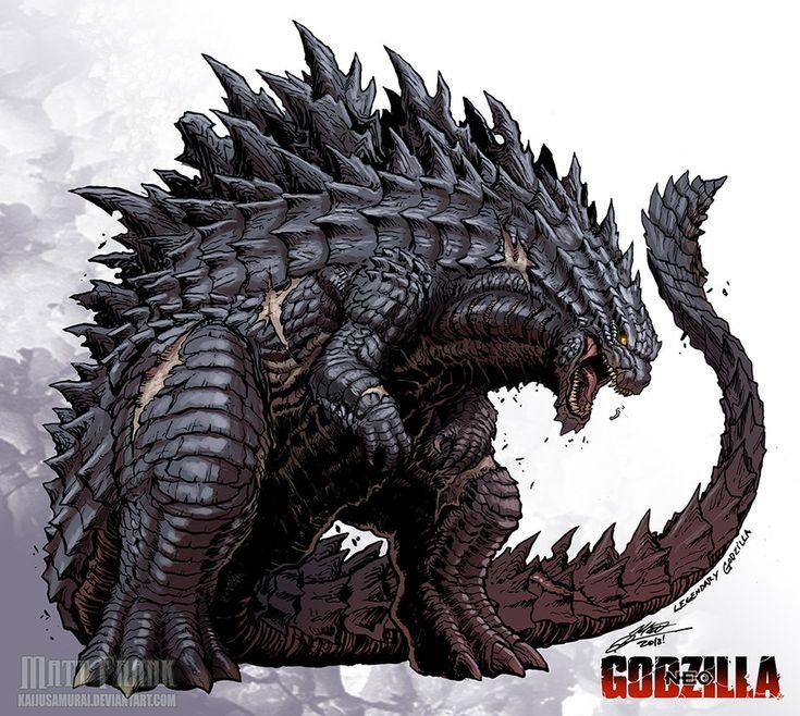 Godzilla Neo - LEGENDARY GODZILLA by KaijuSamurai.deviantart.com on @DeviantArt