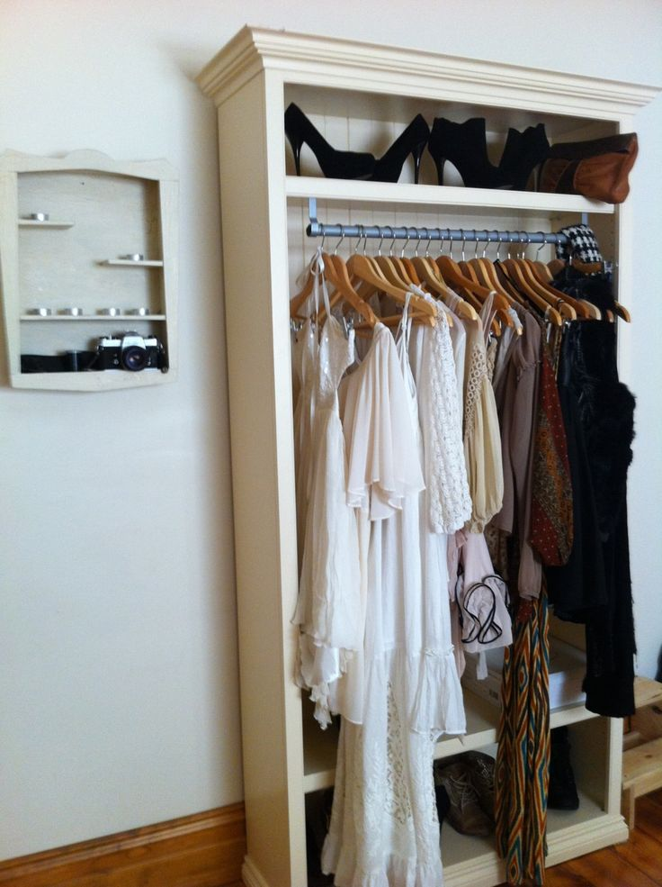 Wardrobe Perfect For In The Basement For Off Season Clothing Or Special Clothes In Hanging