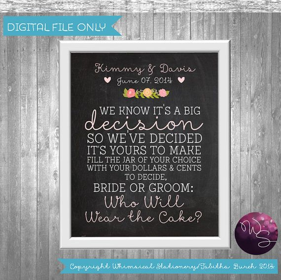With all proceeds going to charity  Side by side Forever  always  Vintage wedding signs