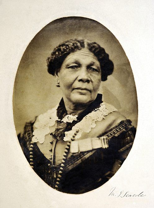 Mary Seacole, the true pioneer in  medical treatment. Not known because of the colour of her skin, yet we hear all about Florence Nightingale. #BlackWomenAreAmazing