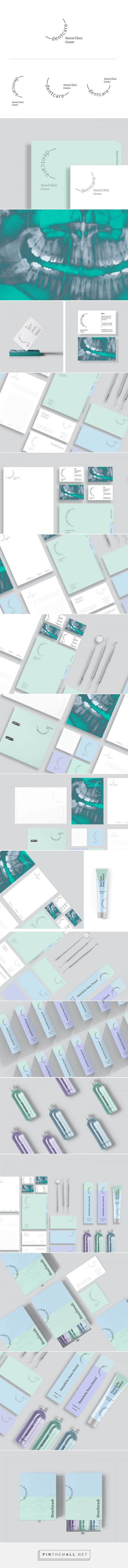 Dentcare | Dental Clinic Center on Behance... - a grouped images picture - Pin Them All
