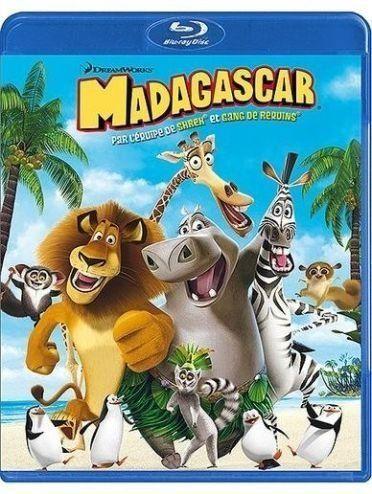 Madagascar [Blu-ray] [FR Import] Svenska Filmer med Svenska Undertexter