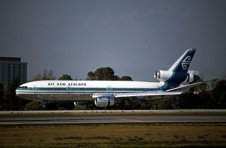 https://flic.kr/p/b9YH9c | Air New Zealand, McDonnell Douglas DC-10-30 | LAX March, 1980