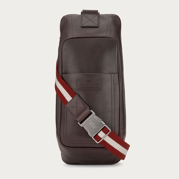 Bally Crossbody Leather Bag - Tabel