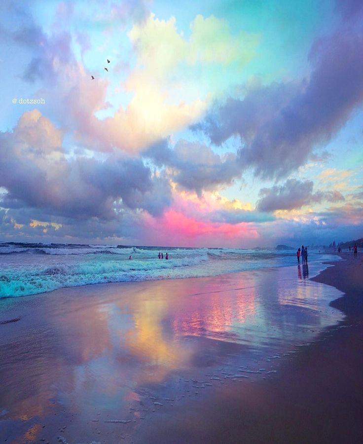 Einhorn-Sonnenuntergang in Australien von Stop ver…