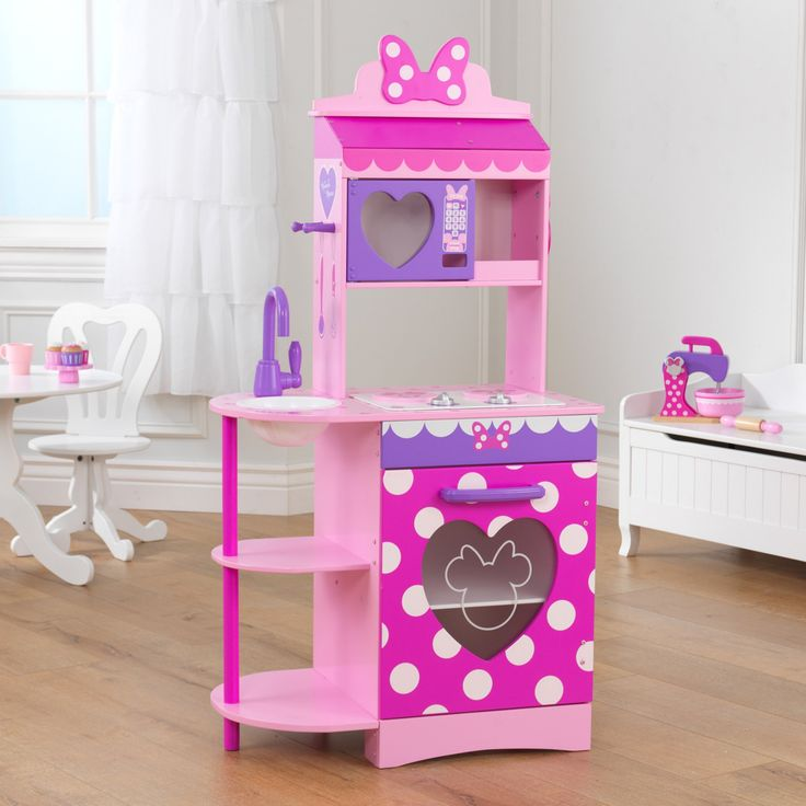 KidKraft Disney Jr. Minnie Mouse Toddler Kitchen - 53372