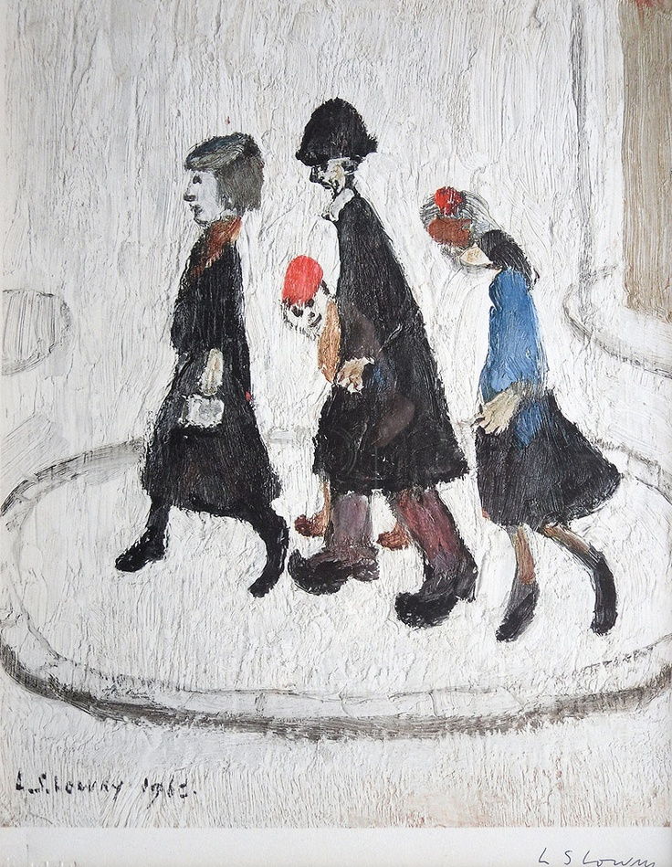 l s lowry s painting waiting for Andy royston's back on the terraces with one of england's most beloved painters , ls lowry one cold and rainy evening in west london i found myself.