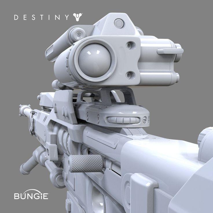 ArtStation - Destiny: Sniper Rifle C FP, David Stammel