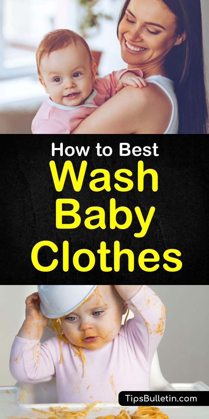 How To Best Wash Baby Clothes The Ultimate Guide Laundry Stains