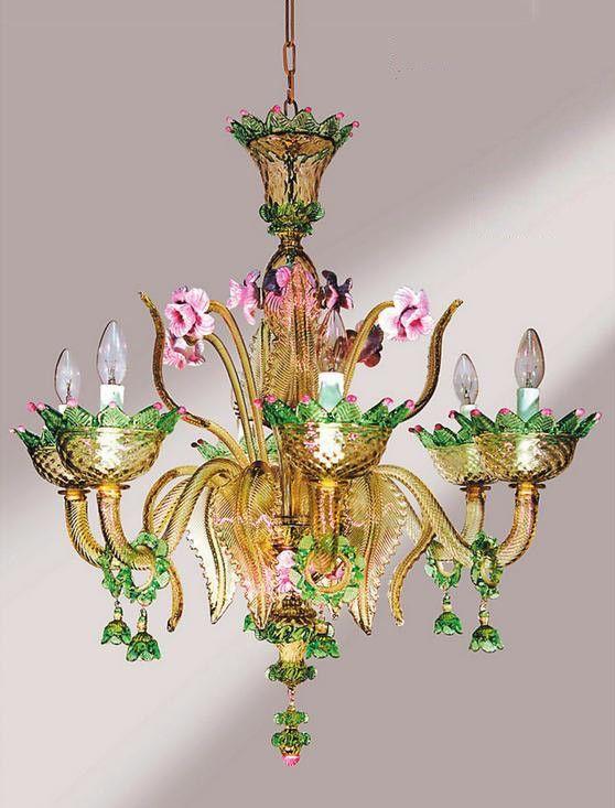 Murano Glass Chandelier 335