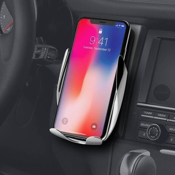 Today 50 Off Automatic Clamping Wireless Car Charger Mount