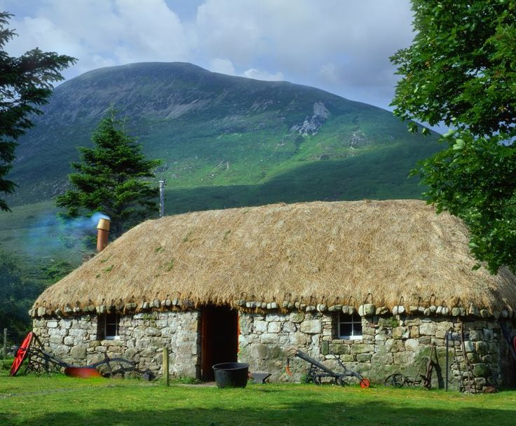 A Traditional Thatched Cottage, Isle of Skye