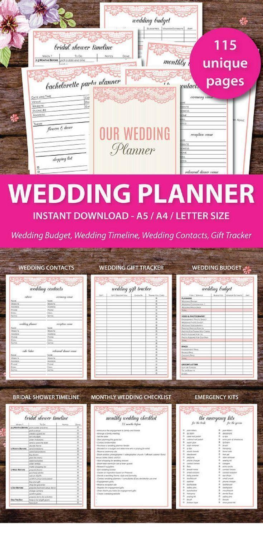 Best Wedding Planner Checklist Images On   Wedding