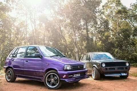 Maruti Suzuki 800: Modified lil' beasts The car that changed the motoring history of India..