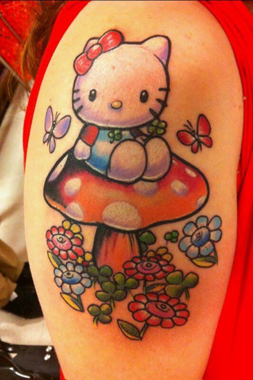 Inked Magazine offers the best tattoo style magazine. Hello kitty