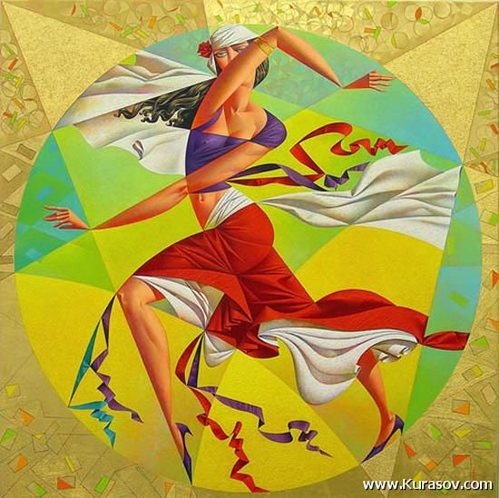 Paintings by Georgy Kurasov | Art and Design