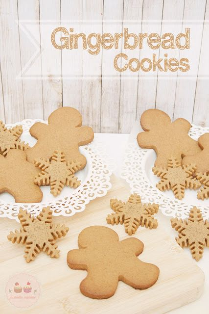Tu medio cupcake: Galletas de Jengibre o Gingerbread Cookies