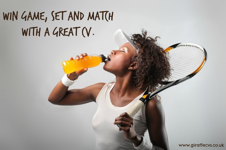 Win game, set and match with a great #CV