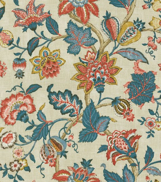 Home Decor Print Fabric-Pkaufmann Boscobel Patriot