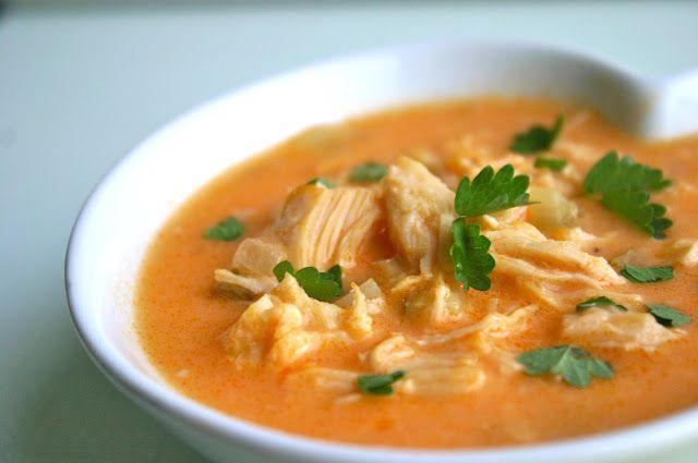 PALEO BUFFALO CHICKEN SOUP - Paleo Recipes | Delicious Paleo Diet Recipes