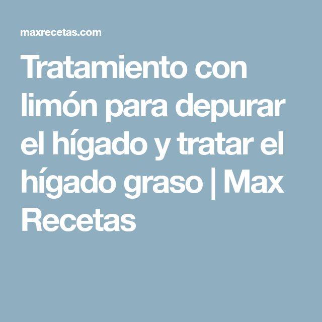 Tratamiento con limón para depurar el hígado y tratar el hígado graso | Max Recetas