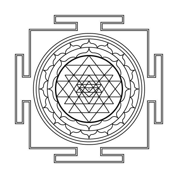 25 Best Ideas About Sri Yantra On Pinterest Sri Yantra