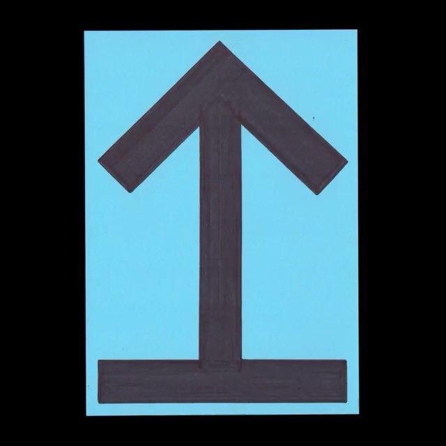 @_marcdavid_ Arrows⬆⬇ #sketch #random #postcard #color #colour #arrow #graphic #symbol #graphicdesign #design #drawingdrawig #handdrawn #shapes #edding #abkstuttgart #klassethomas