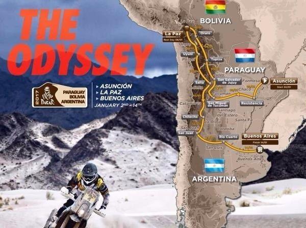 Paraguay, Bolivien und Dakar: Zwölf Etappen und mehr als 9.000 Kilometer