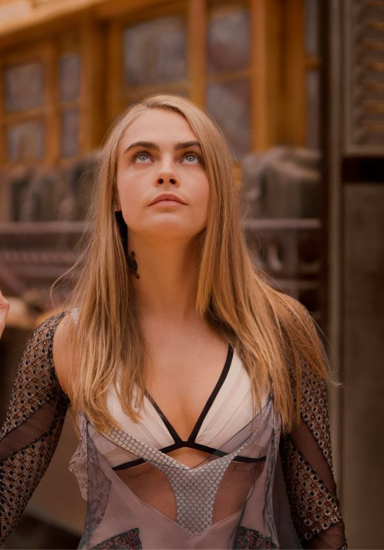 Laureline (Cara Delevingne) - Valerian and the City of a Thousand Planets