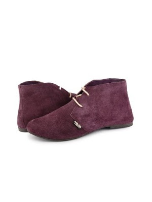 Suede Ankle Length Booties from Carlton London