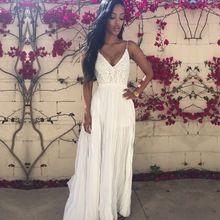 Горячая Продажа Платья 2016 Мода Американский И Европейский Стиль Плюс Размер Планки Спагетти Летом Макси Шифоновое Платье Женщины Плюс Размер(China (Mainland))