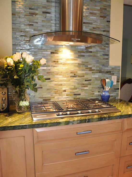 Backsplash design back splash ideas in stone or tile for Log cabin kitchen backsplash ideas