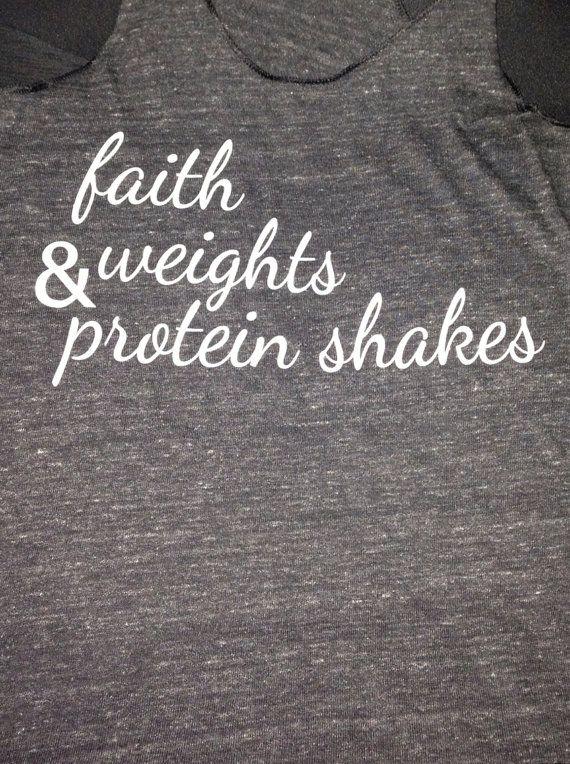 Fitness motivation shirt. @Tiffany Sturms, we need this shirt! :)
