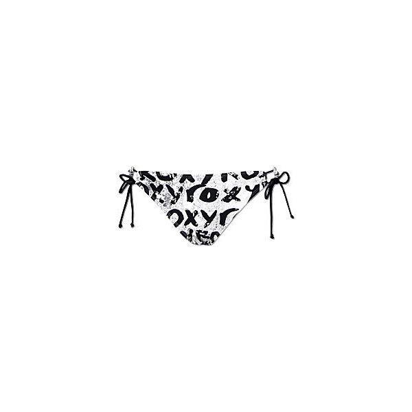 Roxy Stoked Swimwear Bottom ($27) ❤ liked on Polyvore featuring swimwear, bikinis, bathing suits, swimsuits, swim wear, roxy swimwear, side tie bikini bottom, side tie bikini, roxy bikini and bikini swimwear