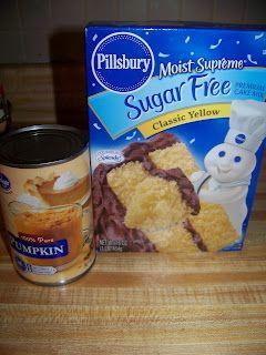 Sugar free Pumpkin Muffins I will add pumpkin pie spice, pecans and raisins to this.