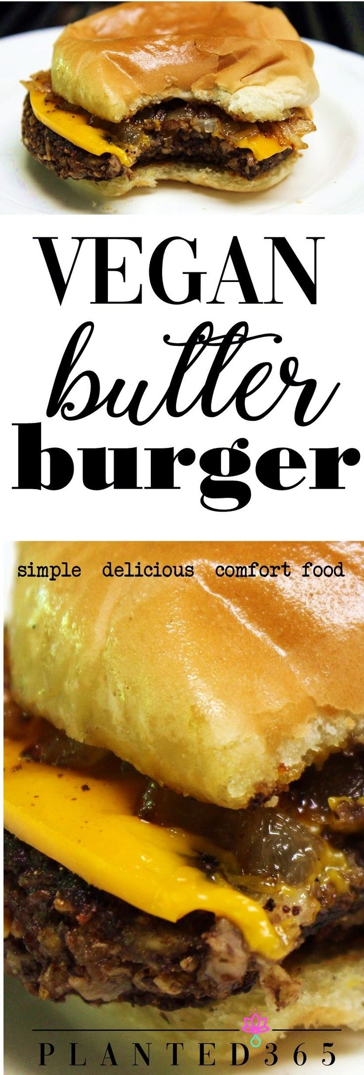 This vegan butter burger is absolutely delicious. It can be made as greasy, gooe…