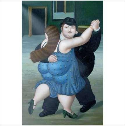 Original Oil On Canvas 'Cheek to Cheek!' on eBid United Kingdom