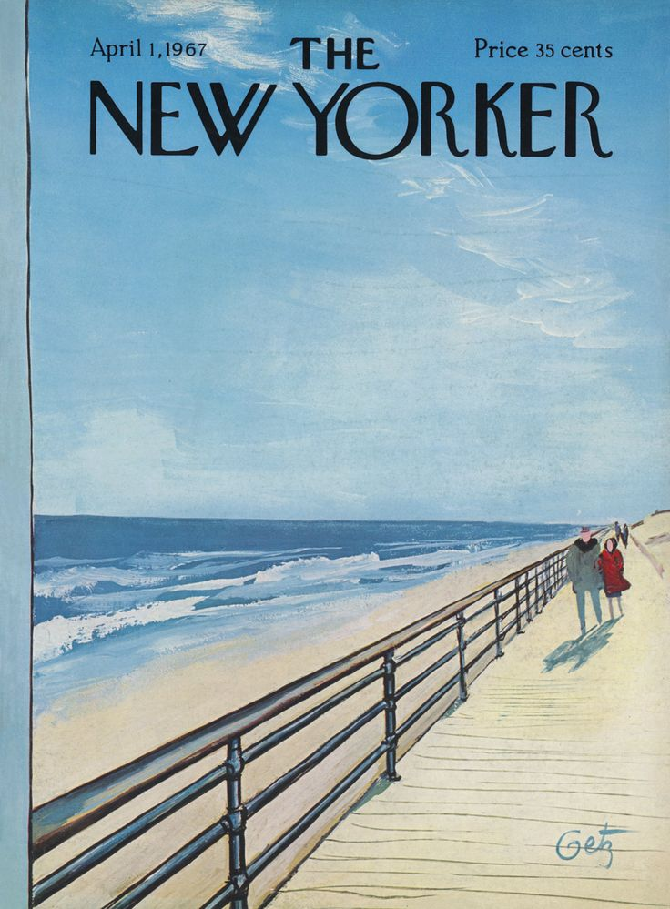 The New Yorker - Saturday, April 1, 1967 - Issue # 2198 - Vol. 43 - N° 6 - Cover by : Arthur Getz