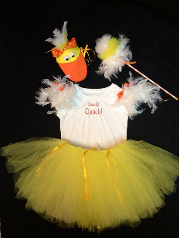 Little Duck Costume Set