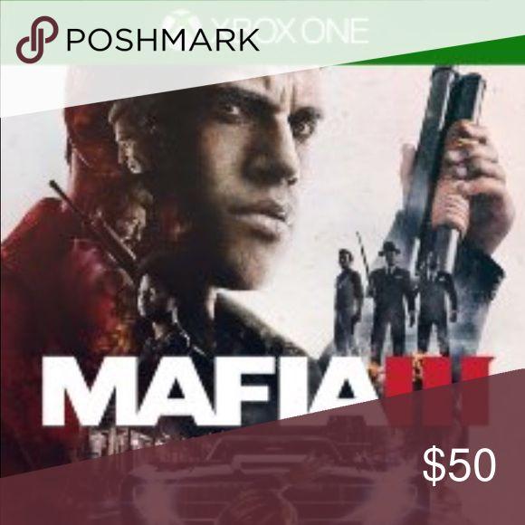 Mafia 3 Xbox one Xbox one, new Other