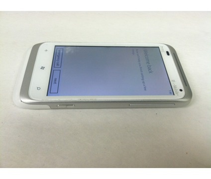 T-Mobile HTC Phones For Sale | HTC Radar 4G White Tmobile | White Windows Phones for Sale in Atlanta ...