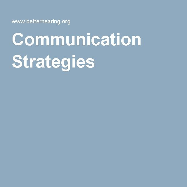 Communication with hearing impaired: Provides strategies for communicating for both the listener/hearing impaired person and their communication partner