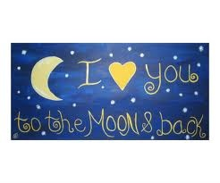 Daughters: Sweet Words, Theme Rooms, Grandkids, Sylvia Jahshan, Grand Kids, Night Time, Baby Girls, The Moon, Kids Rooms