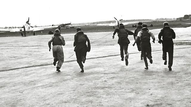 Courage. (Royal Air Force pilots, Battle of Britain, 1940)