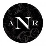 Wedding Stickers - Wedding Labels - Filigree Monogram Sticker