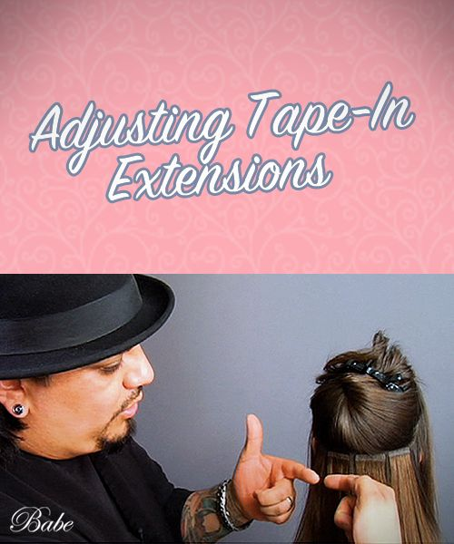 52 best hair extensions tips stylists images on pinterest how to adjust tape in hair extensions pmusecretfo Gallery