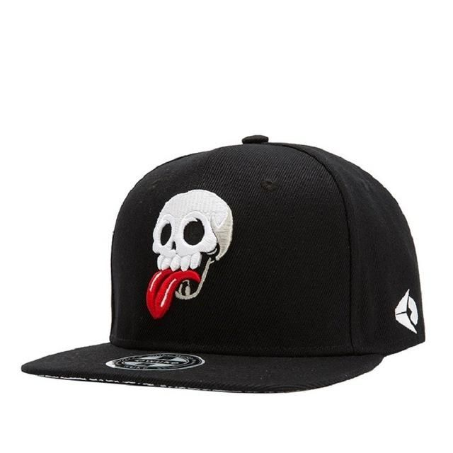 Fashion New Arrival Snapback Hat Bone Snap Back gorras Men Hip Hop Cap  Baseball Cap Fashion Skull Flat-brimmed Hat 060a6685f517