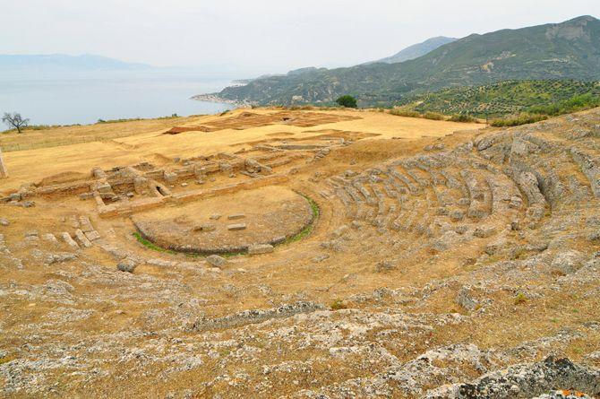 Ancient Theater of Aegira Korynthia