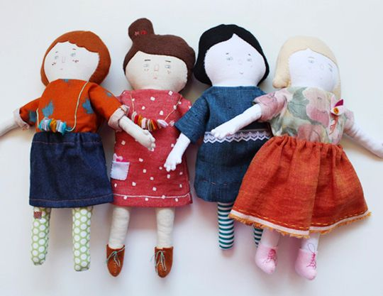 by lovely handmade romance: new girls