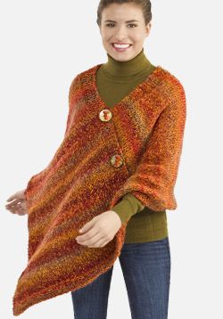 Double Knitting Patterns For Poncho : Free pattern, I will and Knitting patterns on Pinterest